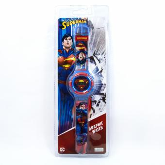 Superman Graphic-strap LCD Watch - 4