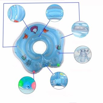 Swimming baby accessories neck ring Tube Safety infant float circle for bathing Inflatable - intl - 5