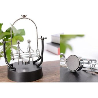 Swing Lover Perpetual Motion Electromagnetic Pendulum Desktop DecorToy Creative Gift Home Crafts - intl - 5