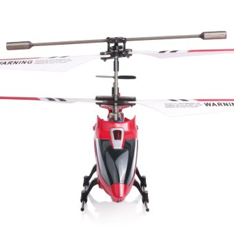 Syma S107G RC Helicopter Model Toys Mini Metal 3.5CH with GyroRemote Control (Red) - 2