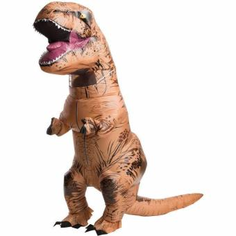 T-Rex DINOSAUR Inflatable Adult Costume TRex Costumes Halloween Party Dress - intl - 5