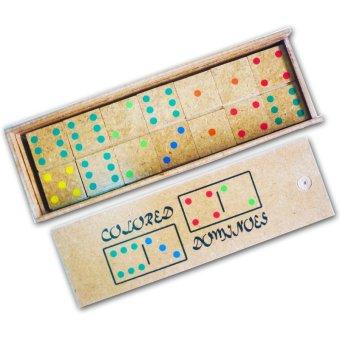 Tahanang Walang Hagdanan Colored Dominoes