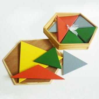 Tahanang Walang Hagdanan Construction Box Hexagon (Multicolor)