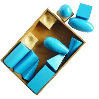 Tahanang Walang Hagdanan Geometric Solids (Blue)