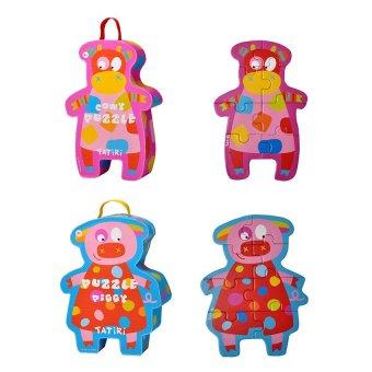Tatiri Puzzle (Box Cowy and Piggy)