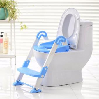 Than's Baby Potty Training Toilet Chair Seat Step Ladder Trainer Toddler