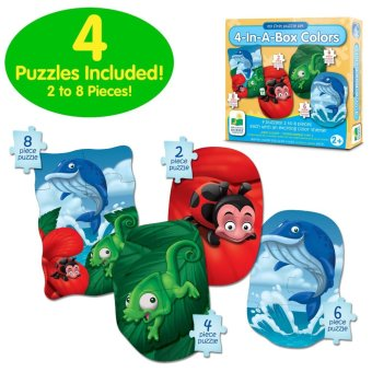 THE LEARNING JOURNEY My First Puzzle Sets 4 in A Box Puzzles Colors - picture 2
