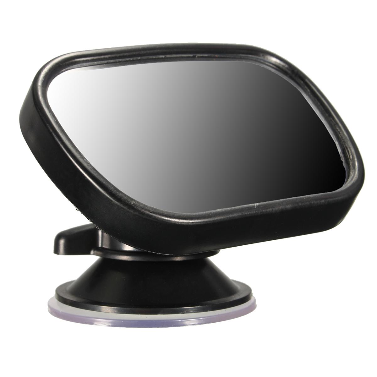 Tirol Adjustable Acrylic Car Rear View Baby Mirror Visor Clip Windscreen Suction