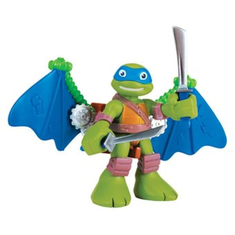 """TMNT Half Shell Heroes 2.5"""" Figure 2pack - Leo With Glider"""