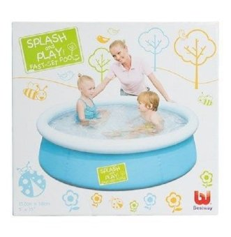Toy Collections Splash and Play Fast Set Pool (Blue)