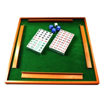 Traditional chinese family Board Game portable mahjong - intl