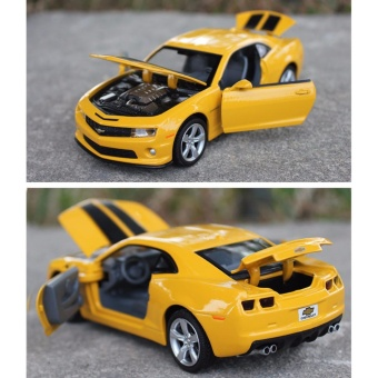 Transformers:Chevrolet Camaro 1:32 Scale Die-cast Model Car with Light & Sound,Door Opening - intl - 3