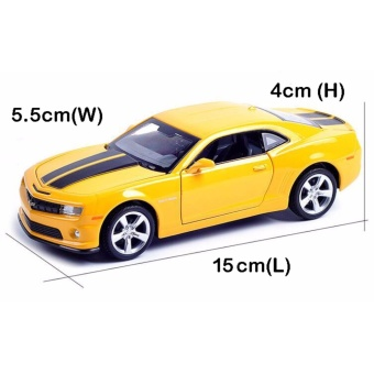 Transformers:Chevrolet Camaro 1:32 Scale Die-cast Model Car with Light & Sound,Door Opening - intl - 4
