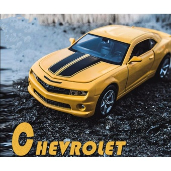 Transformers:Chevrolet Camaro 1:32 Scale Die-cast Model Car with Light & Sound,Door Opening - intl