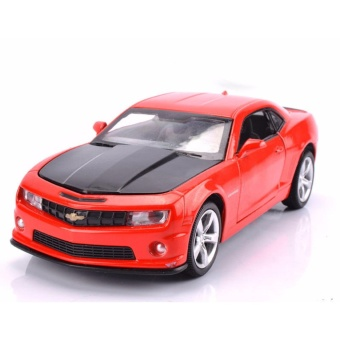 Transformers:Chevrolet Camaro 1:32 Scale Die-cast Model Car withLight & Sound,Door Opening - intl