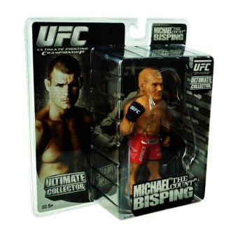 """UFC Round5: Michael """"The Count"""" Bisping Collectible Figure"""