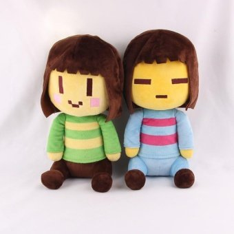 Undertale Frisk Chara Sans Papyrus Frisk Asriel Napstablook TorielTemmie Undyne Stuffed Doll Plush Toy For Kids Gifts - 2