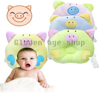 USA TOP ONE lazada and USA best selling Sleep Positioner BabyInfant Newborn Support Pillow Cushion Prevent Flat Head - Intl