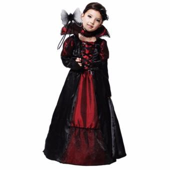 Vampire Princess Kid Costume (Medium) (Age 8-10 Years Old)