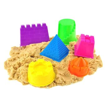 Vanker 6Pcs Small Kinetic Motion Sand Castle Building Model Mold Beach Toys for Kids Price Philippines