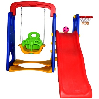 wawawei 3in1 Slide with Swing 12502/3001(Multicolor) Price Philippines