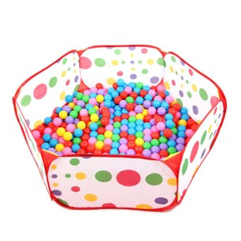 Whyus 1.2M Portable Hexagon Outdoor/Indoor Ocean Ball Pit Pool Kids Game Play Toy Tent - INTL