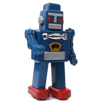 Wind Up Big Robot - Blue
