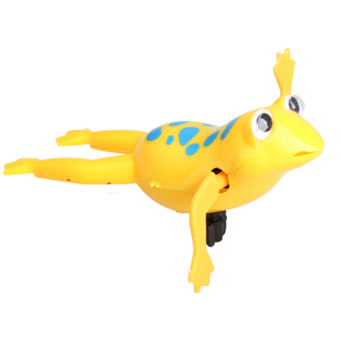 Wind-Up Swim Frog Operated Kids Bath Toy - Intl