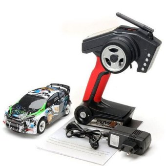Wltoys K989 1/28 2.4G 4WD Brushed RC High Speed Rally Racing OffRoad Drift Car (Intl) - 4