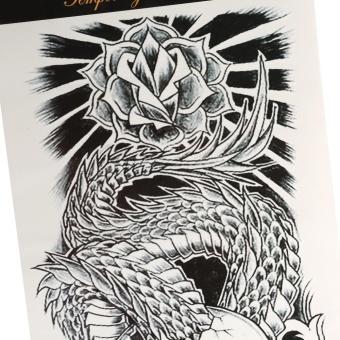 Women Men Temporary Fake Art Tattoo Sticker QB-3017 - intl - 3