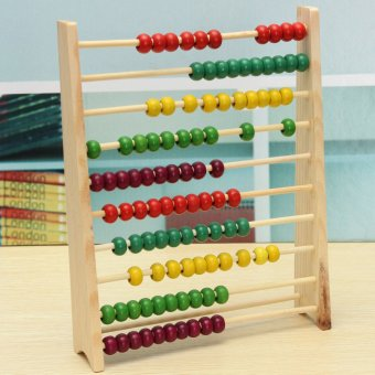Wooden Abacus 100 Beads Counting Number Preschool Kid Math Learning Teaching Aid Price Philippines