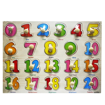 Wooden Learning Alphabet Toys and Wooden Numbers Set of 2 - picture 3
