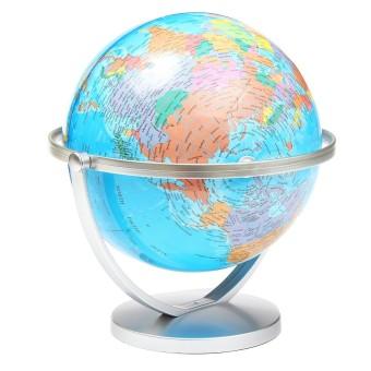 Buy it world globe rotating swivel map of earth atlas geography world globe rotating swivel map of earth atlas geography intl 2 gumiabroncs Choice Image