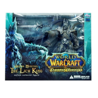 """World of Warcraft Arthas Menethil """" The Lich King """" Deluxe Action Figure Collection - picture 2"""