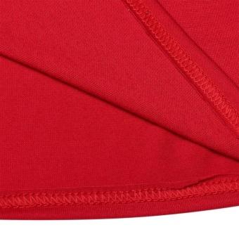 YI.D Christmas XMAS Kids Adult Family Pajamas Set Long Sleeve Top and Striped Pants Sleepwear Lounge Nightwear(Red/Green) - intl - 4