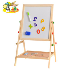 Youdele Kids Magnetic Double Sided Wooden Drawing Board
