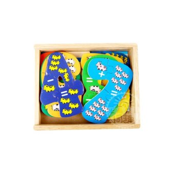 Young Mindz Wooden Numbers Puzzle Box - 2