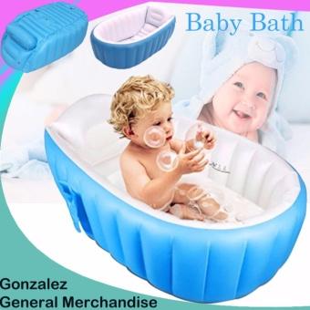 YT-226A Inflatable Baby Bath Tub (Blue) | Lazada PH