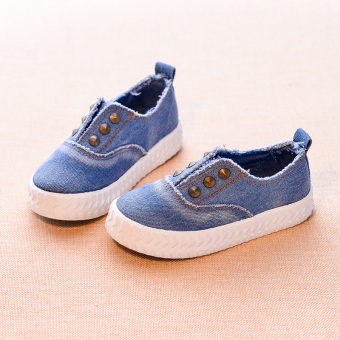 Yun Lin ten still boy's girls spring New style shoes children's canvas shoes