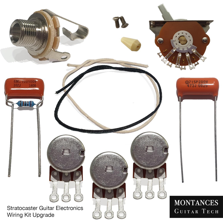Strat Wiring Kit Upgrade