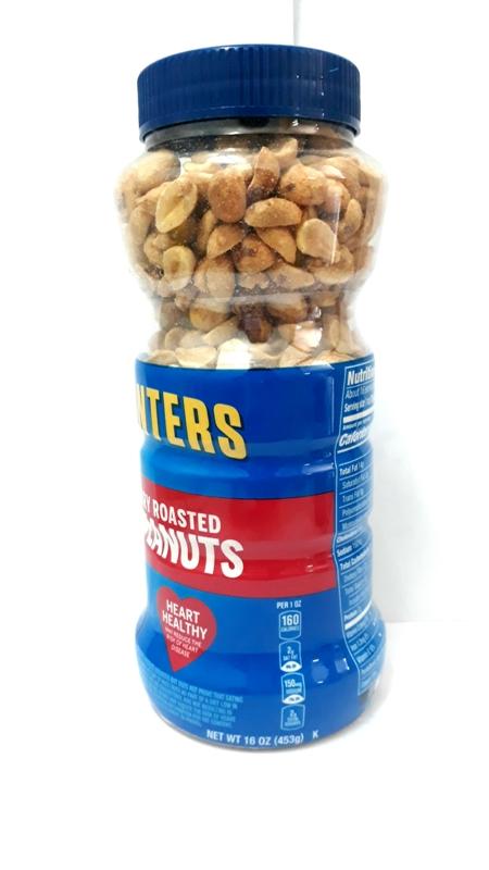 Planters Dry Roasted Peanuts 16 oz