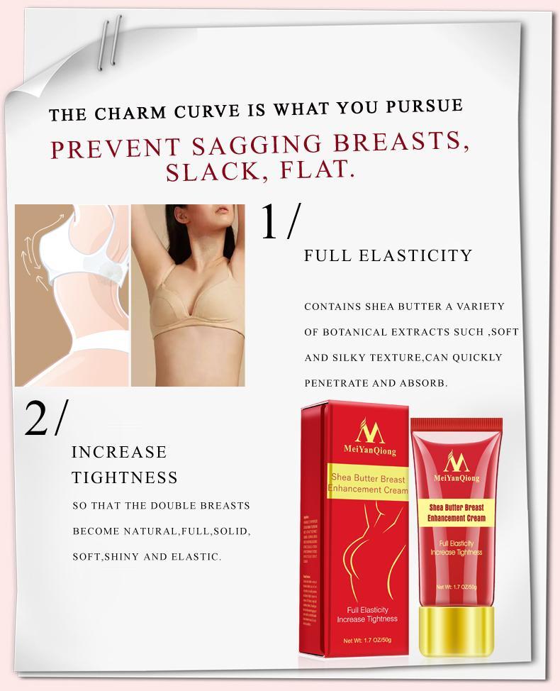 Kem nở ngực tự nhiên Bust Enhance Massage Body Treatment Cream 50g 4