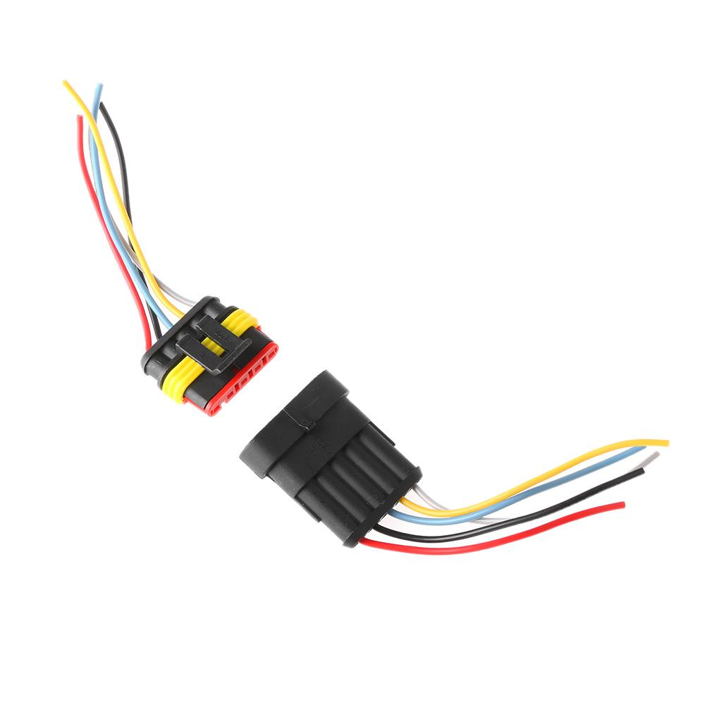 With Wire Automotive HID Plug  Car Waterproof Electrical Connector Seal Kits