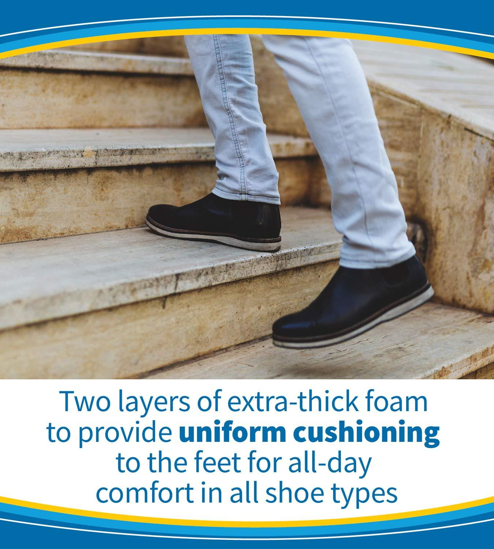 Dr Women Size 5-10 Men Size 7-13 1 Pair Scholl's Comfort Air-Pillo Insoles