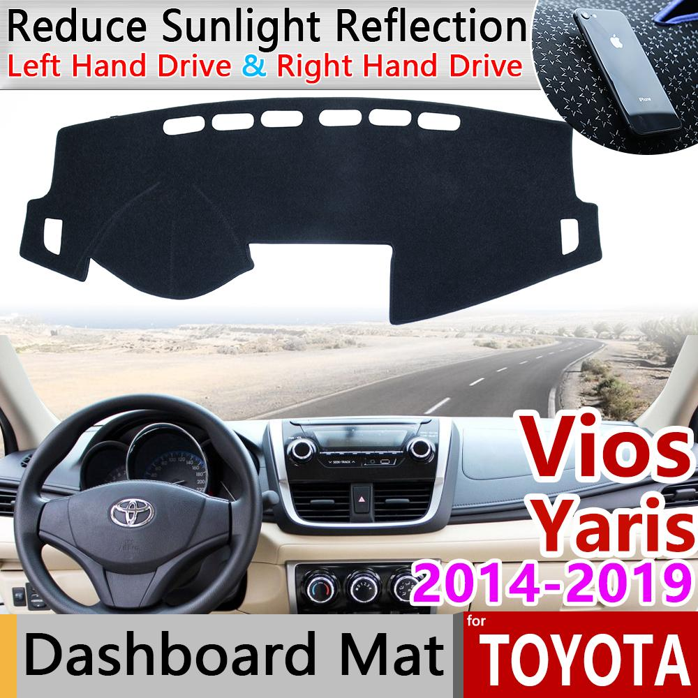 For Toyota Camry 2018-2019 DashMat Dash Cover Dashboard Mat Car Interior Pad red