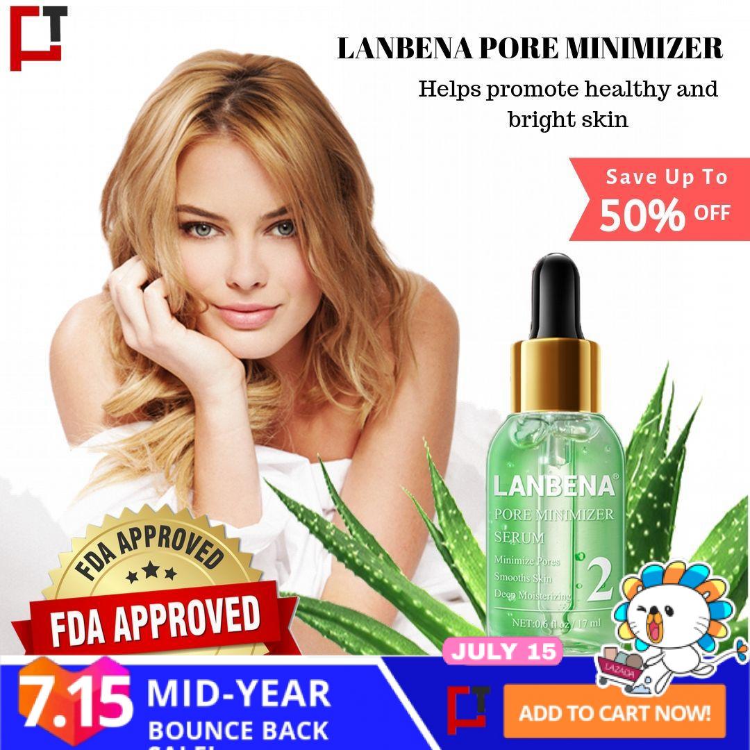 Original Lanbena Pore Minimizer Serum Shrinking Pores Peeling Acne