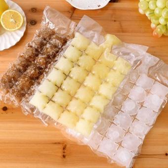 10Pcs/set Fridge Self-sealing Ice Packs Portable Disposable CubeTray Mould Bag One-time using - intl - 5