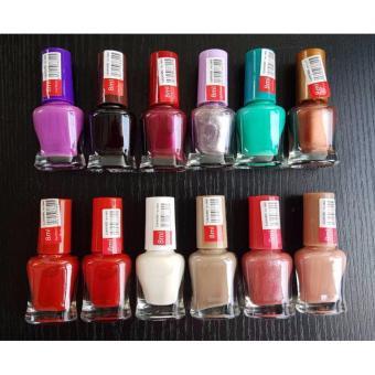 12 Pcs. Assorted Color Nail Polish Set 200g - 4
