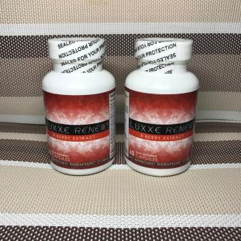 2 Bottles Authentic LUXXE Renew(R) 8 Berry Extract 60s