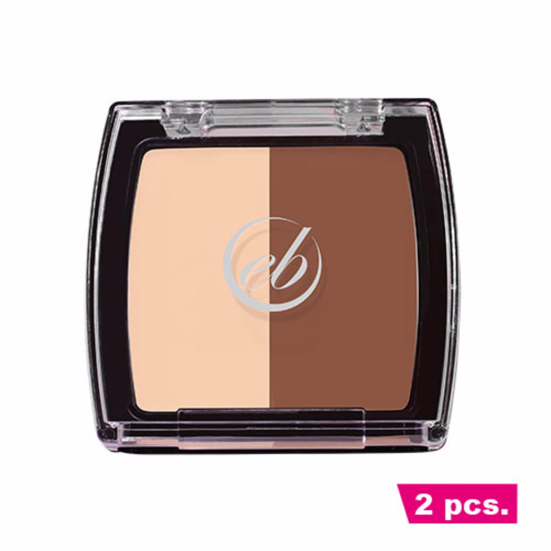 2 pcs. Ever Bilena Contour Duo - Deep Philippines